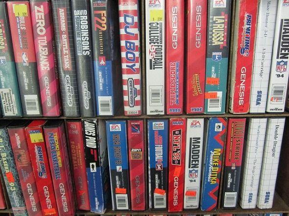 jogos de vídeo usados